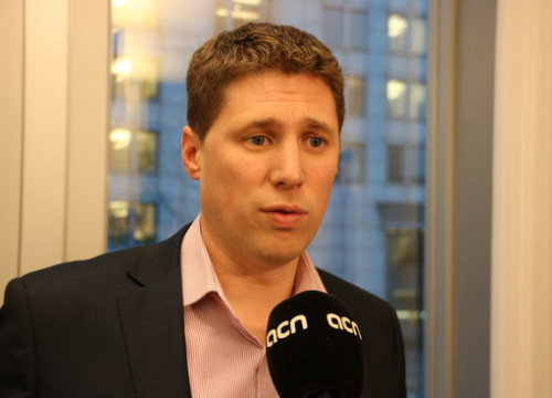 Irish MEP Matt Carthy (by ACN)