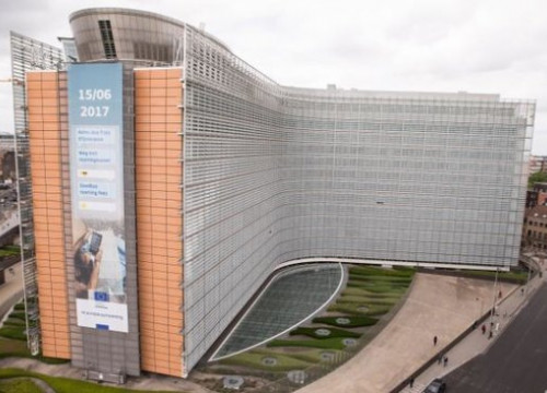 The European Commission building in Brussels, in June 2017 (by Nazaret Romero)
