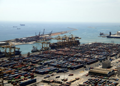 View of the Port of Barcelona (by ACN)
