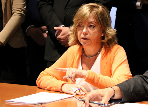 Catalan Minister of Governance, Meritxell Borras