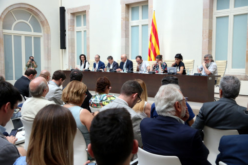 Catalan pro-independence parties Together for Yes and CUP