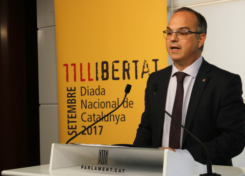 Catalan government spokesperson Jordi Turull (by ACN)
