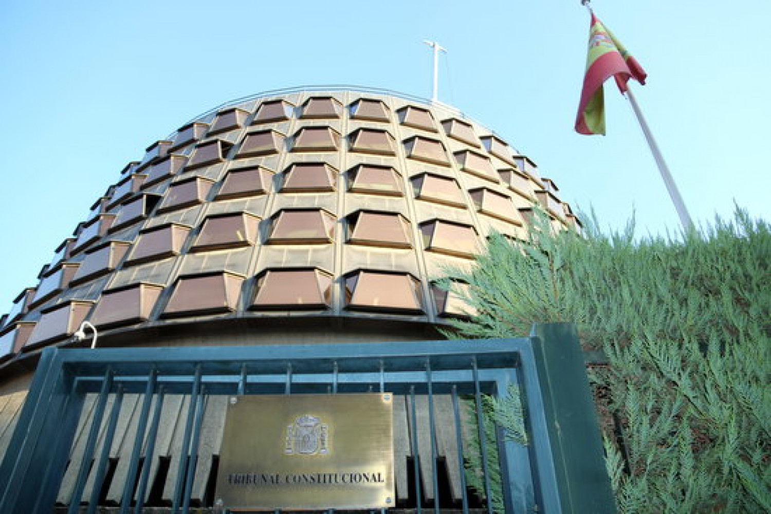 Exterior image of the Constitutional Court (Photo by Tània Tàpia)