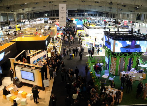 Image of the 2017 Smart City Expo fair in Barcelona (by Josep Ramon Torné)