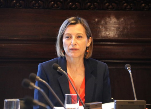 Catalan Parliament president Carme Forcadell (by ACN)