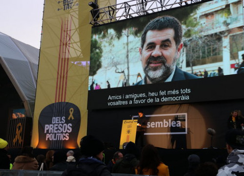 Former president of the Catalan National Assembly Jordi Sànchez (by ACN)