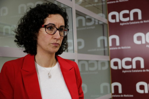 Esquerra Republicana's secretary general, Marta Rovira (by Guillem Roset)