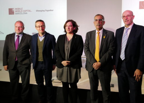 The Mobile World Capital presentation held in Barcelona on Wednesday (by ACN)