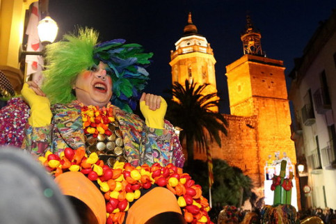 Sitges Carnival King, February 14, 2018 (by Gemma Sánchez)