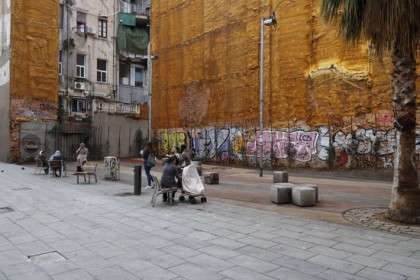 Plot where housing will go in centre of Barcelona (by ACN)