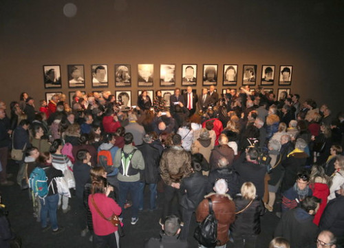 The opening of 'political prisoners' exhibit in Museum of Lleida (by Laura Cortés)