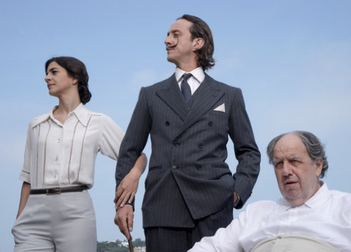 The Dalí family in a frame from the 'Miss Dalí' film directed by Ventura Pons (March 13 2018 by Els Films de la Rambla)