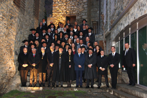 Authorities participate in the commemorative institutional acts for the 25th anniversary of the Andorra Constitution on March 14 2018 (by Albert Lijarcio)