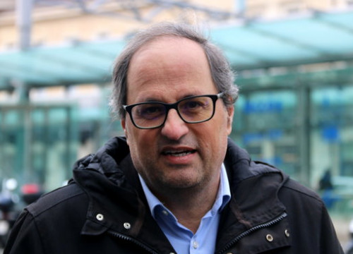 Catalan president-elect Quim Torra on March 18 2018 (by Bernat Vilaró)