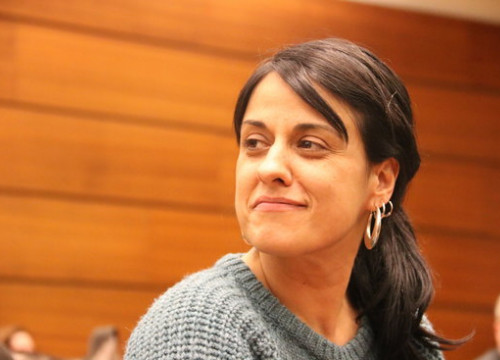 Former CUP MP Anna Gabriel (by ACN)