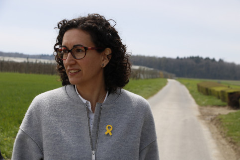 ERC's secretary general Marta Rovira in Switzerland (by ACN)