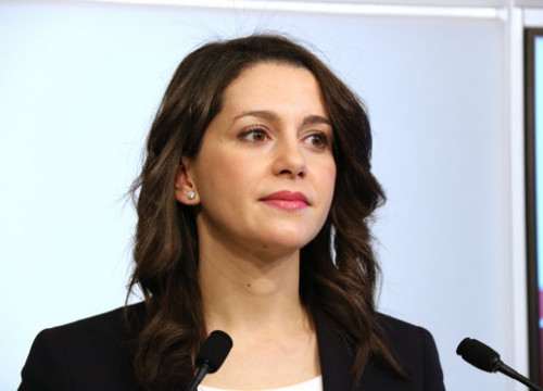 Inés Arrimadas, the leader of Ciutadans (by Bernat Vilaró)