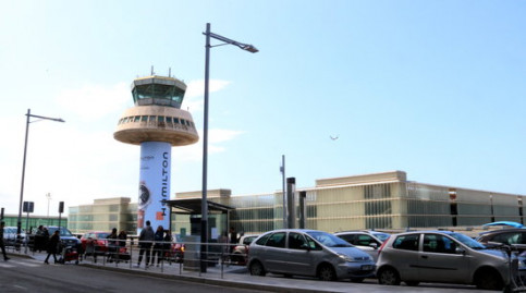 Entrance of Terminal 1 at Barcelona airport (by ACN)