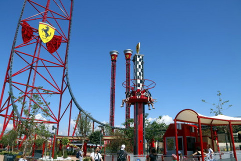 New attractions for children at Ferrari Land (by ACN)