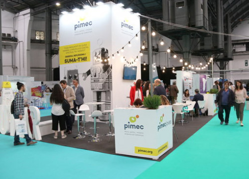 The 'PIMEC' or small and medium business stand at BizBarcelona (by ACN)
