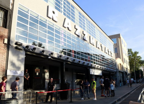 The Razzmatazz venue in Barcelona, June 4, 2018 (by Laura Fíguls)