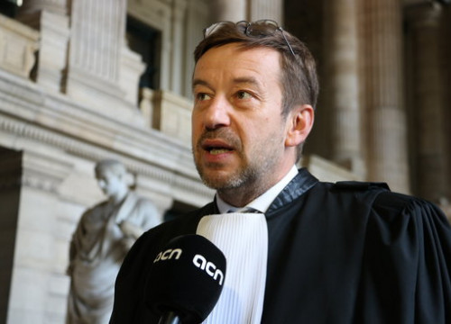 Belgian lawyer Christopher Marchand during the interview with ACN (by ACN)