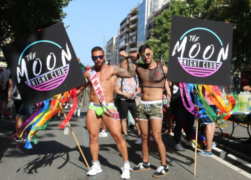 Participants at Barcelona Pride 2018 (by ACN)