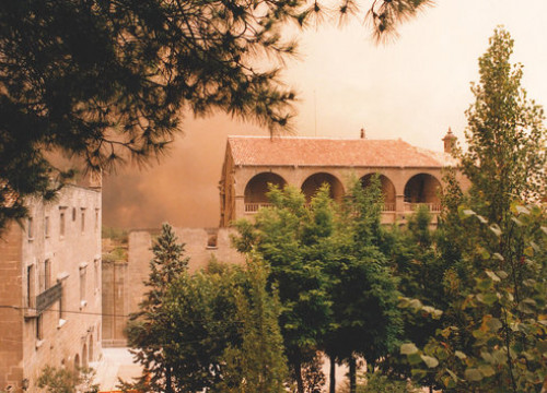 Image of the 1998 fire in Central Catalonia (Archive)