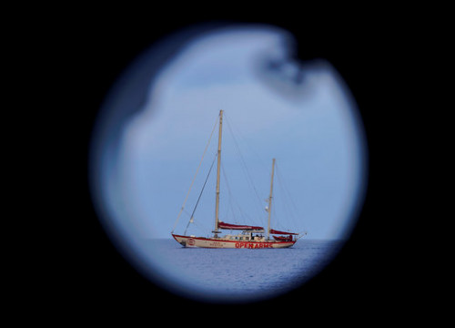 A Proactiva Open Arms boat (by Reuters/Juan Medina)