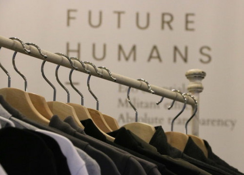 Future Humans shirts made from recyclable materials (ACN)