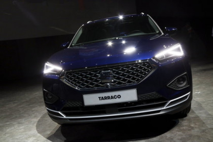 Image of Seat's Tarraco model in September 2018 (by Roger Segura)
