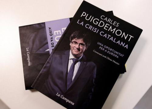 Carles Puigdemont's book 'The Catalan crisis, an opportunity for Europe'