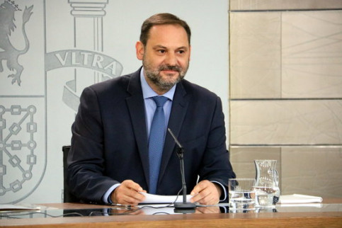 Spain's infrastructure minister José Luis Ábalos (by ACN)