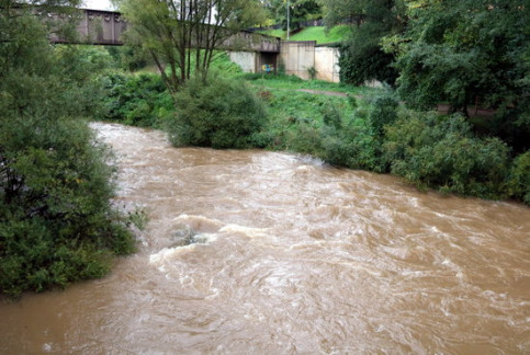 The Ter river in Ripoll (by ACN)