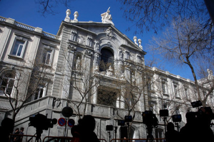 Spanish Supreme Court in Madrid (by Tània Tàpia)