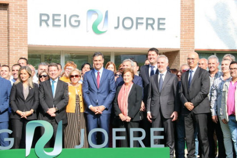 Reig Jofre firm inaugurated a new plant in Toledo (by Roger Pi, ACN)