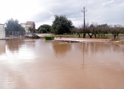 Flooding in the Montsià region, in southern Catalonia (by ACN)