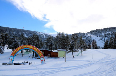 The Port Ainé ski resort, in Lleida (by Marta Lluvich, ACN)