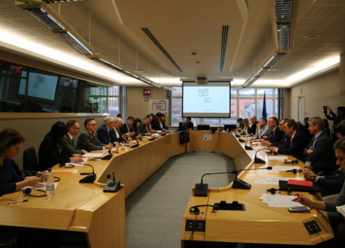 MEPs and MPs from member states hold meeting in Brussels to launch the Parliamentary Network of Friendship Groups of Catalonia (by ACN)