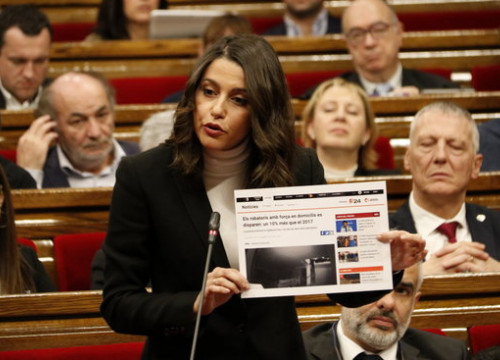 Cs leader Inés Arrimadas (by Guillem Roset)