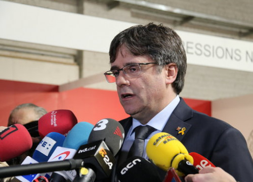 Former Catalan president Carles Puigdemont (by ACN)