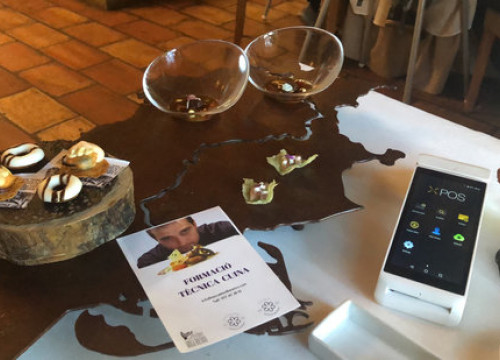 Catalan restaurants led by double Michelin star chef become world firsts to implement new cryptocurrency point of sale terminal