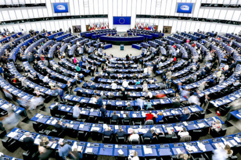 Image of the European Parliament in March 2019 (by EP)