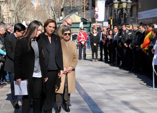 Inauguration of memorial to the victims of the terror attack on La Rambla in Barcelona