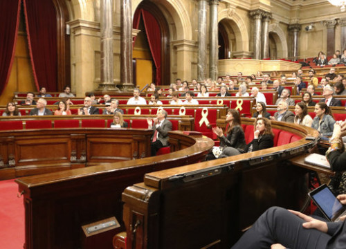 The Catalan Parliament today voted to open an investigation into the Spanish monarchy
