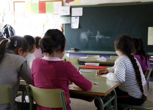 Students at a Catalan school (by ACN)