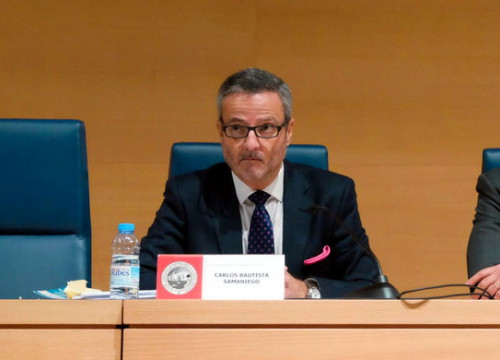 The prosecutor in Spain's National Court Carlos Bautista Samaniego (by Twitter ICAIB)