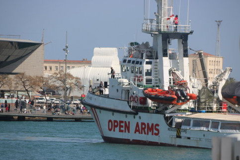 The Open Arms rescue ship (by ACN)