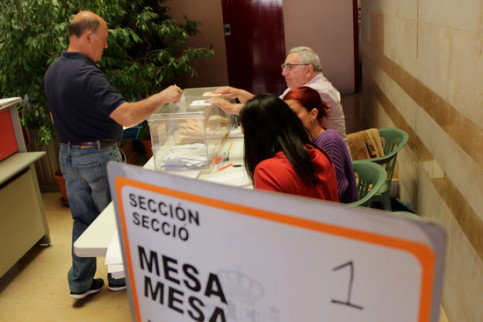 A polling station in Catalonia during the April 28, 2019 Spanish general election (by ACN)