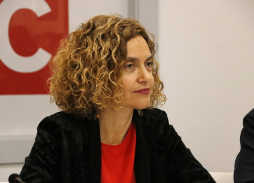 The Socialist official, Meritxell Batet, in May 2019 (by Sílvia Jardí)